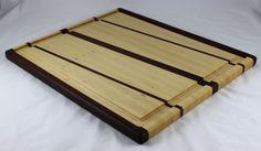 Ebony & Hickory Butcher Block Cutting Board by BlueMtnWoodworks, $150.00
