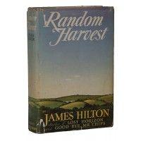James Hilton - Random Harvest - Little Brown US 1941 - Signed First Edition