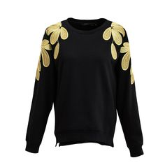 Aliexpress.com : Buy Ving 2017 Women Floral Embroidery Sweatshirt O Neck Pullover Fashion Women's Sweatshirt from Reliable fashion dresses plus size suppliers on Toyouth