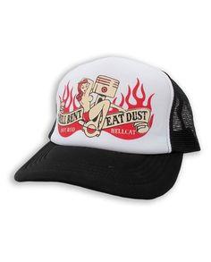 Hotrod Hellcat HELLBENT EAT DUST Herren Kappe/Cap.Biker,Tattoo,Custom Style