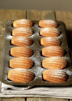 These precious little cakes are easy to make and make the perfect sweet for holiday entertaining. Enjoy soft, delicate Madeleines fresh from the oven, or