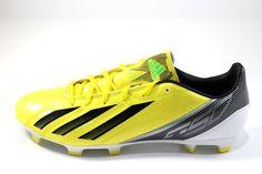 Adidas Men's F10 TRX FG Vivid Yellow/Black Soccer Cleats G65347 #Adidas #Soccer #Cleats #Sales #Deals #Shopsneakerkingdom