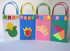 Lembrancinhas Criativas para Festa Junina: 20 ideias Diy And Crafts, Crafts For Kids, Paper Crafts, Preschool Graduation, Classroom Decor, Projects For Kids, Envelope, Geek Stuff, Wraps