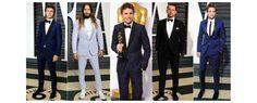 Valentino, Armani, Dior Homme, Dolce & Gabbana... Retour sur les plus beaux looks black tie au masculin de la 87ème cérémonie des Oscars à Los Angeles.