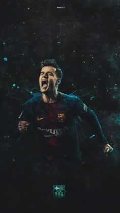 Philippe Coutinho #football #barcelona #art #coutinho Fcb Barcelona, Barcelona Football, Soccer Art, Soccer Poster, Football Is Life, Football Boys, Neymar, Coutinho Wallpaper, Fc Barcelona Wallpapers
