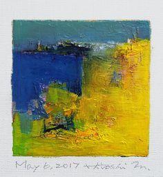 https://flic.kr/p/TXvSNs   may062017   Oil on canvas 9 cm x 9 cm © 2017 Hiroshi Matsumoto www.hiroshimatsumoto.com