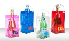 Groupon - 2-Pack of Bottle on Ice Wine Bags. Multiple Colors Available. Free Returns. in Online Deal. Groupon deal price: $0.07