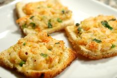 Shrimp Toast More (luau food appetizers) Shrimp Appetizers, Finger Food Appetizers, Shrimp Recipes, Appetizer Recipes, Appetizer Ideas, Finger Foods, Vietnamese Cuisine, Vietnamese Recipes, Asian Recipes
