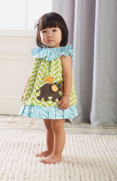 Mud Pie Baby Elephant Dress  #SocialCircus. @Katarina Whinery  this is your future child!