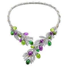 #Bvlgari Olive Festa Necklace
