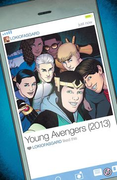 Young Avengers by Jamie McKelvie *
