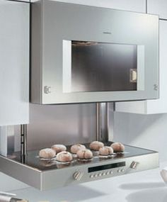 A Gaggenau Oven for a Handicap Accessible Kitchen THIS IS MY DREAM OVEN....I MEAN, WHAT 79 YEAR OLD PERSON WANTS TO BE STOOPING OVER AT  TO LIFT A 20LBS. TURKEY OUT OF THE OVEN?