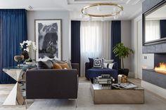 Изысканный пентхаус в Лондоне | Пуфик - блог о дизайне интерьера