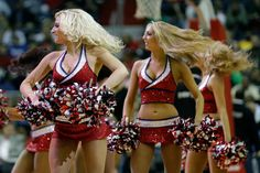 The Washington Wizards Girls preform during the first half of the Wizards game against the Indiana Pacers at Verizon Center on November 19, 2012 in Washington, DC.
