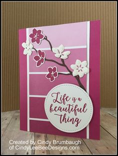 July 08, 2017 Here is a Spring card I made with the paint swatch patterned paper from the Color Theory Designer Series Paper Stack. I love the new Berry Burst, and it did not disappoint me on this …