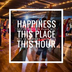 One hour each day. REFIT® gives you a happy place.