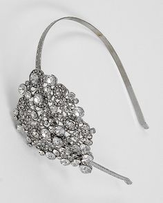 Hair Accessory; change metal to elastic so you don't get a headache and keep the bling!