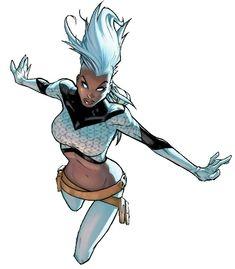Extraordinary X-Men Storm, by Humberto Ramos Marvel Girls, Ms Marvel, Captain Marvel, Marvel Comics, Comic Book Artists, Comic Book Characters, Comic Books Art, Comic Art, Storm Costume
