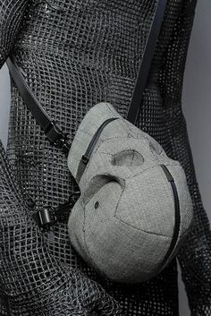 Every Goth will want one! Aitor Throup Melds Art & Fashion In His First Menswear Line Of Shiva Skull Bags.