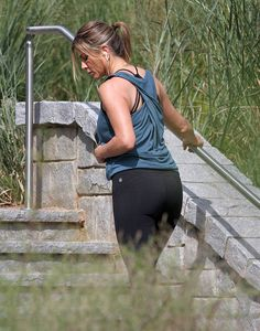 Jennifer Aniston Works Out in Fabletics Gear | POPSUGAR Fitness