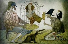 jealous harlequin Mondrian, Ex Libris, Klimt, Illustrators, Modern Art, Auction, Scene, Gallery, Artwork