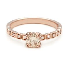 The unique engagement rings in the Bridal Collection celebrate love   Anna Sheffield