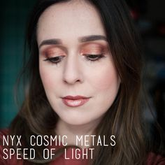 Beauty: NYX Cosmic Metal in Speed of Light review