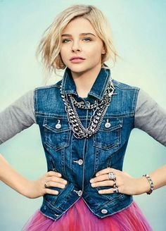 "teen fashion trends 2013-2014 | Chloe Grace Moretz for ""Teen Vogue"""