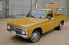 Learn more about Survivor: 1974 Ford Courier on Bring a Trailer, the home of the best vintage and classic cars online. Small Trucks, Mini Trucks, Old Classic Cars, Classic Cars Online, Ford Courier, Old Pickup Trucks, Toyota Trucks, Mode Of Transport, Hot Rides