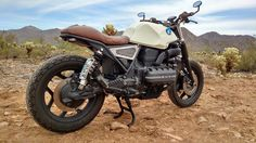 """BMW K100 """" Night Rider """" - revisited motorcycle"""