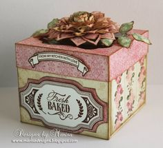 Designs by Marisa: JustRite Papercraft February Release - Home Bakery...