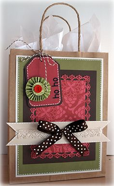 Holiday Gift Bags by Kris Berc