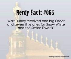Snow White Disney Nerd Fact