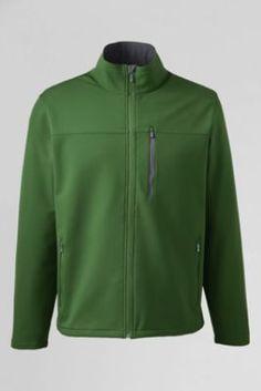 Men's Soft Shell Jacket from Lands' End - XLT