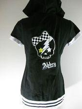 Abbey Dawn Avril Lavigne Black Skull Bow Skully Hoodie Junior-254