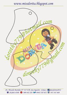 Miss Dorita: Abecedario Grande 3 Felt Templates, Scrapbook Templates, Letter Templates, Felt Name Banner, Name Banners, 3d Letters, Letters And Numbers, Lettering Design, Hand Lettering