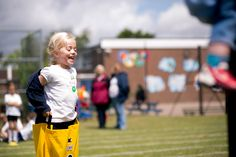 The expression says it all!   Sports Day 2016