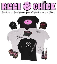 REEL CHICK Women's Fishing Clothing, Apparel & Gear Ladies Girls