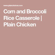 corn and broccoli rice casserole - How To Freeze Cucumbers