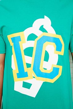 Icecream Icy Over Cone Tee in Green
