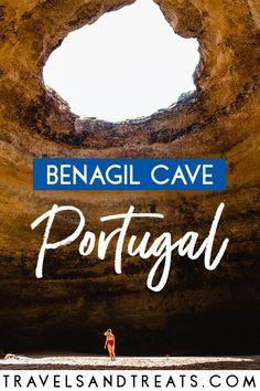 Benagil Cave in the