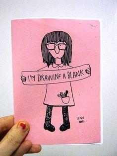 I'm Drawing A Blank by Tukru