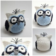 Homemade by Giggles: Bean Bag Owl - FREE Crochet Pattern!