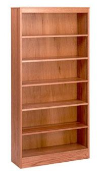 3672-72-x-36-oak-bookcase-wadjustable-shelves