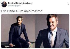 Eric Dane, Grey's Anatomy, Mark Sloan, Supergirl, Life, Random Things, Random Pictures, Drawings, Greys Anatomy