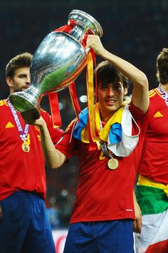 David Silva Spain v Italy - UEFA EURO 2012 Final