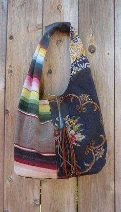 Cowgirl Chic  Boho Bag by kuzmadesign on Etsy