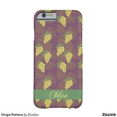 Grape Pattern Barely There iPhone 6 Case