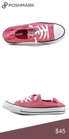 CONVERSE SIZE 8.5 PINK SHORELINE Women's SHOES Brand new Converse Shoes Sneakers