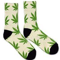Cannabis Cream Crew socks